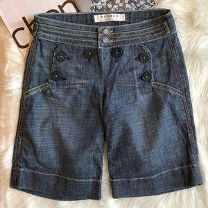 Hudson Sailor Style Jean Shorts 26
